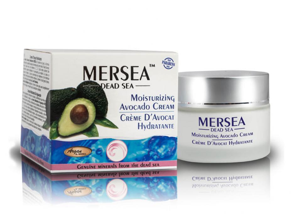 Avocado Moisturizing Day Cream with Dead Sea Minerals