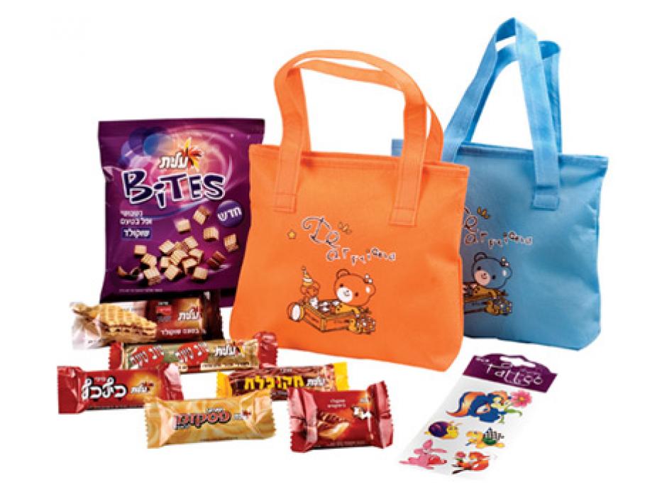 Bag of Hanukah Surprises, Gift Package of Elite Chocolates