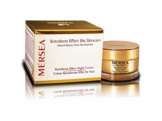 Botoderm Effect Night Cream with Dead Sea Minerals