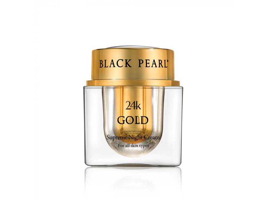 Black Pearl 24K Gold Supreme Night Cream