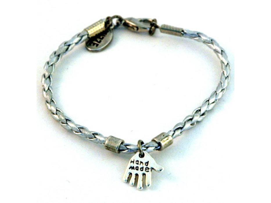 Silver Kabbalah Bracelet, Silver Hamsa