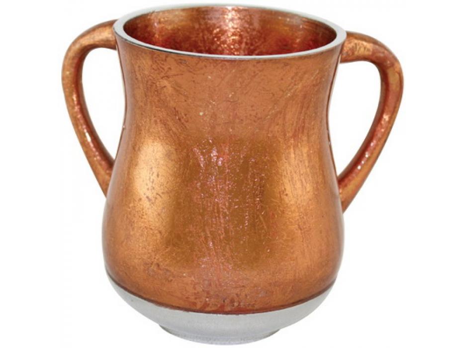 Bronze Color Aluminum Elegant Washing Cup