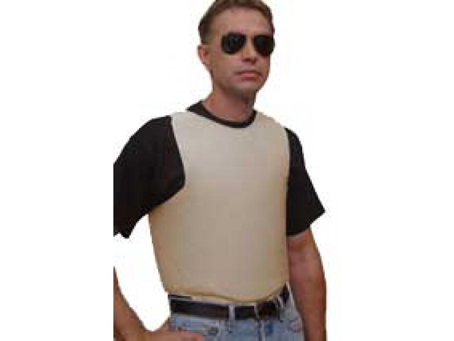 Concealed Lightweight Goldflex Bulletproof Vest, Level IIIA
