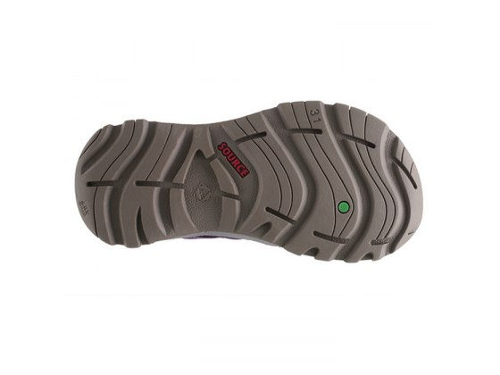 Rugged Sole Boys Source Sandal - Bottom View