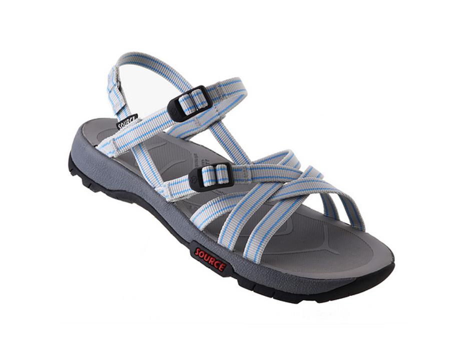Capra X Womens Source Sandal - Light Grey