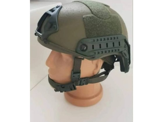 Green Light Fast Bulletproof Ballistic Helmet Level IIIA