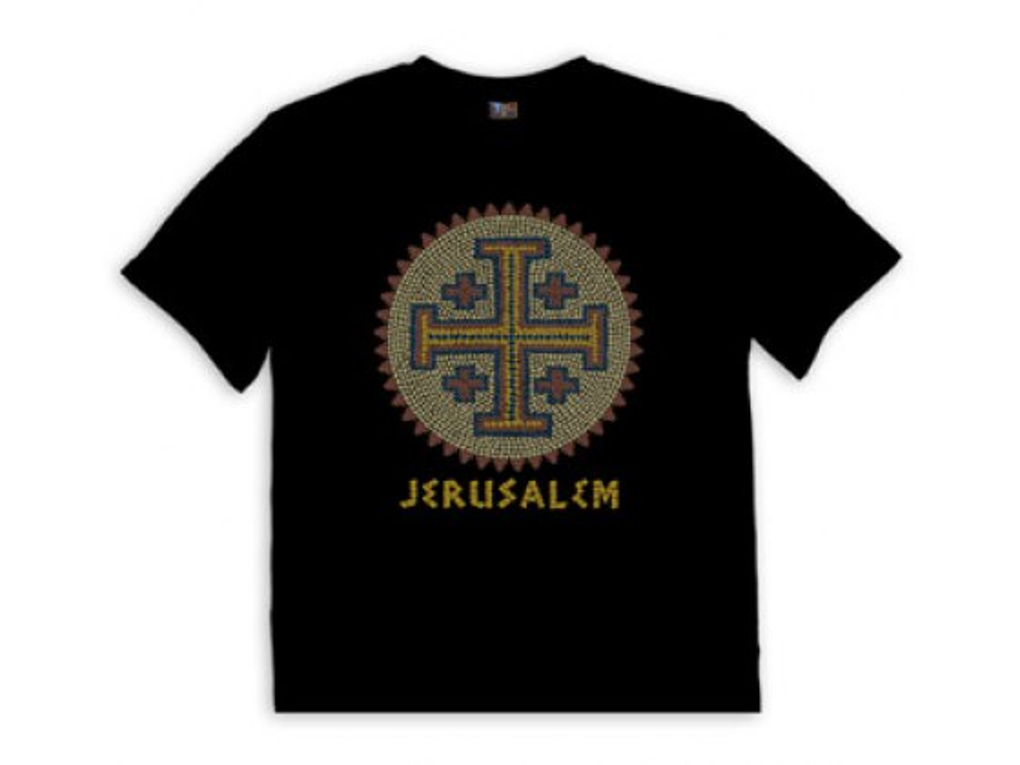 Christian T Jerusalem Cross Mosaic