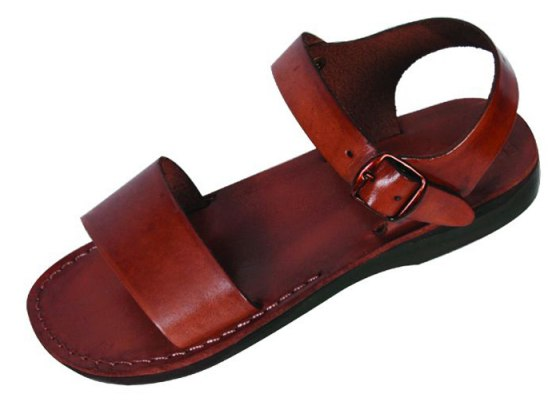 Classic Single Strap Biblical Leather Sandals - Judea
