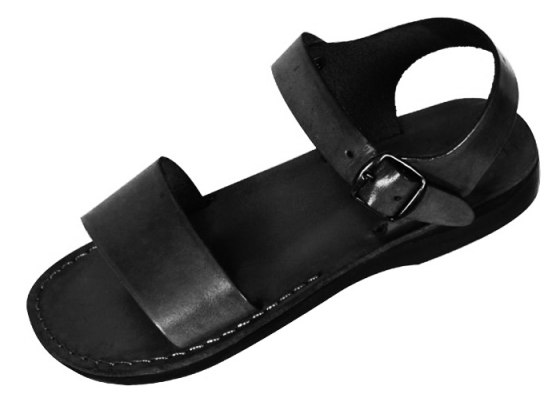 Classic Single Strap Biblical Handmade Leather Sandals - Judea