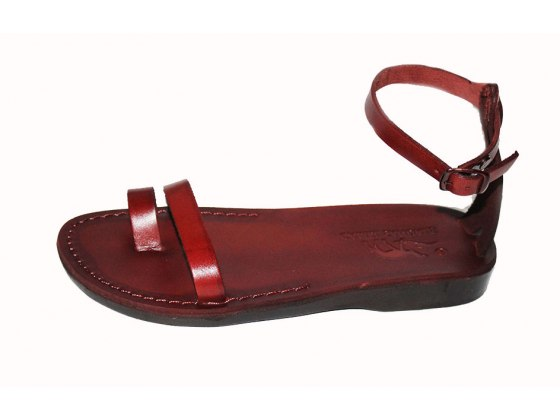 Classic Toe and Ancle Thin Strap Handmade Leather Sandals