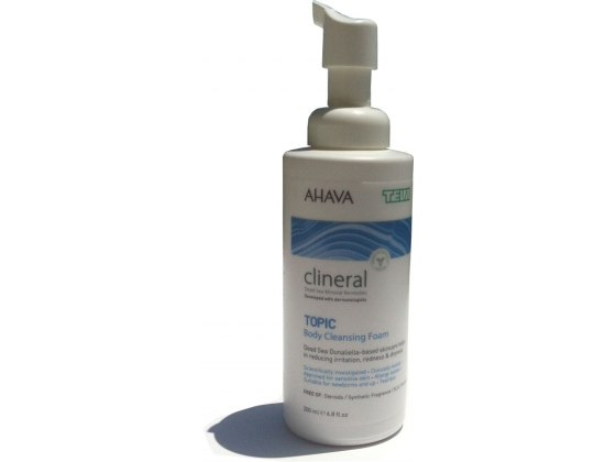 Clineral Atopic Body Cleansing Foam with Dead Sea Minerals