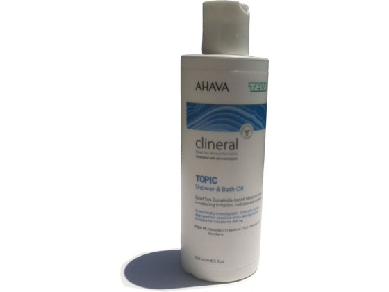 Clineral Atopic Shower & Bath Oil with Dead Sea Minerals