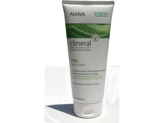 Clineral Psoriasis Body Cream with Dead Sea Minerals