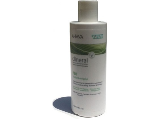 Clineral Psoriasis Scalp Shampoo with Dead Sea Minerals
