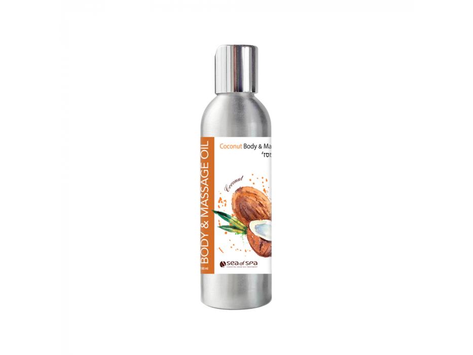 Coconut Body & Massage Oil by Sea of Spa