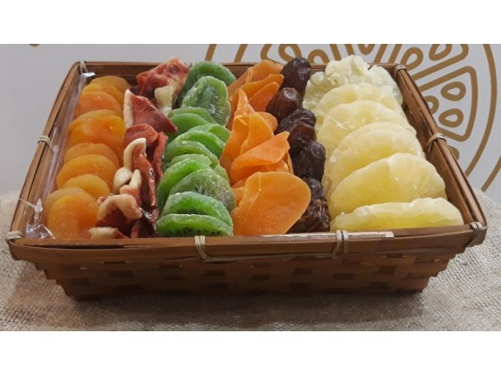 Colors Dried Fruit Basket