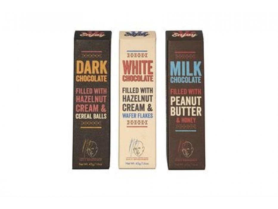 Set of 3 Chocolate Bars