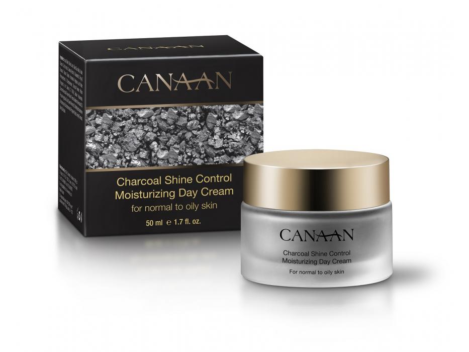Canaan Charcoal Shine Control Moisturizing Day Cream