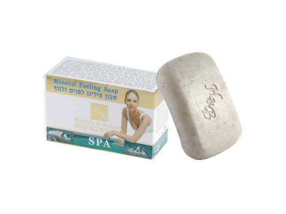 Dead Sea Mineral Anti-Aging Exfoliating Soap with Patchouli
