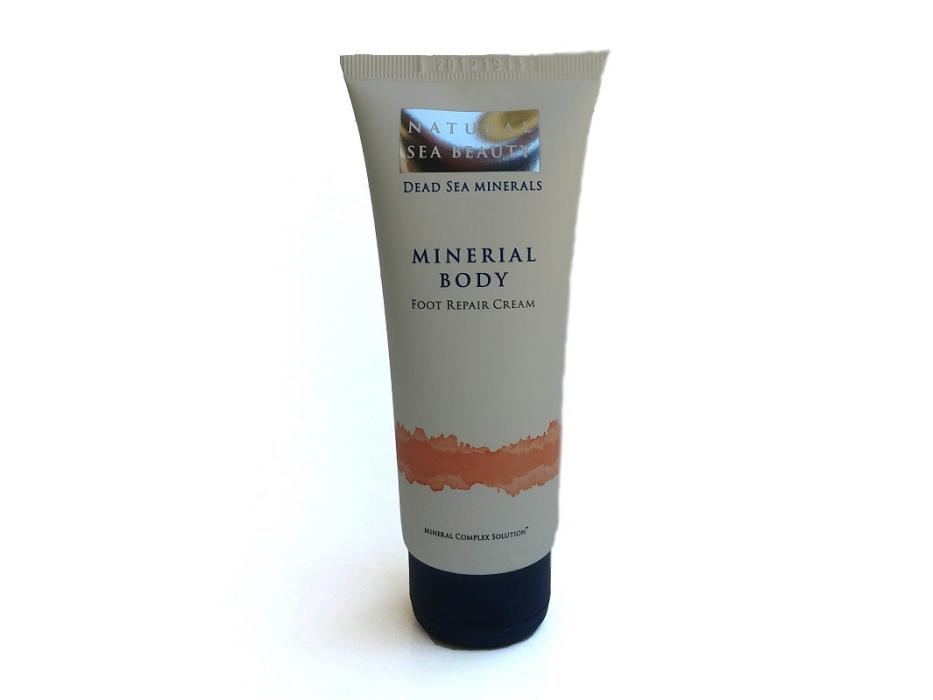 Dead Sea Foot Repair Cream by Natural Sea Beauty