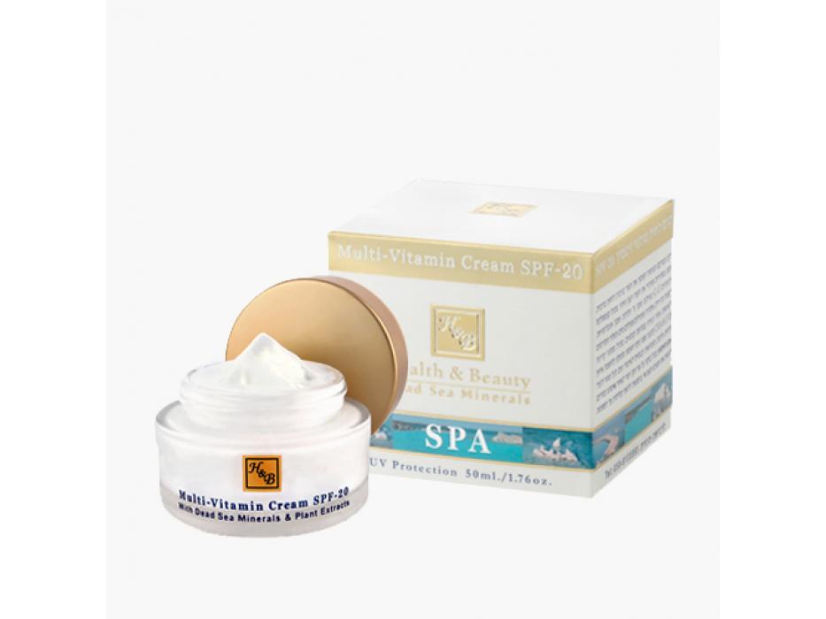 Dead Sea Mineral Multi-Vitamin Face Cream SPF 20