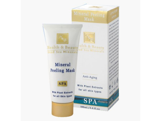 Dead Sea Mineral Peeling Mask with Apricot Micro-Grains