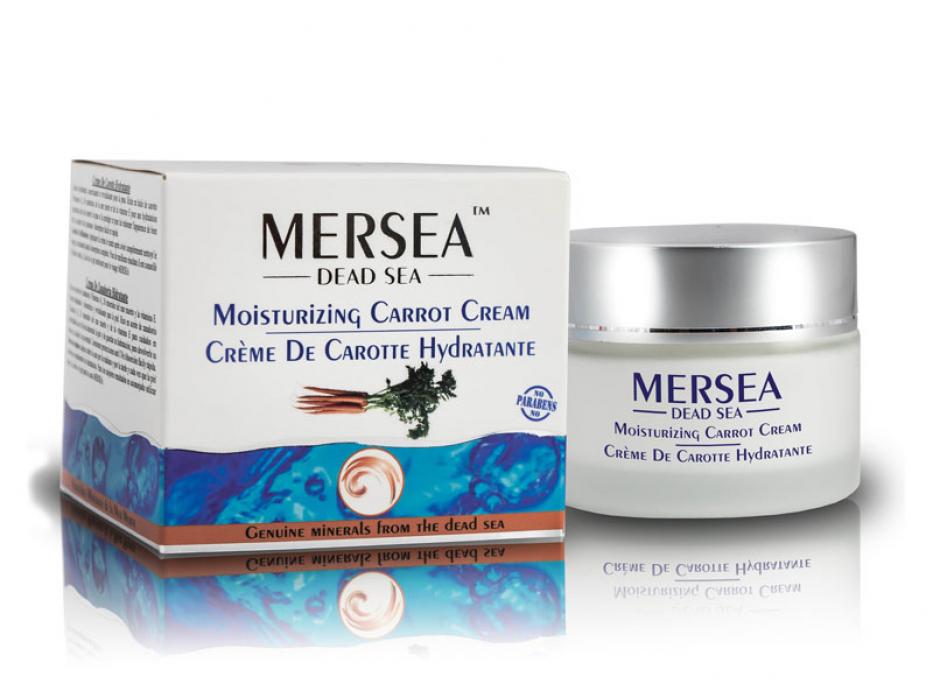 Dead Sea Minerals and Carrot Cream