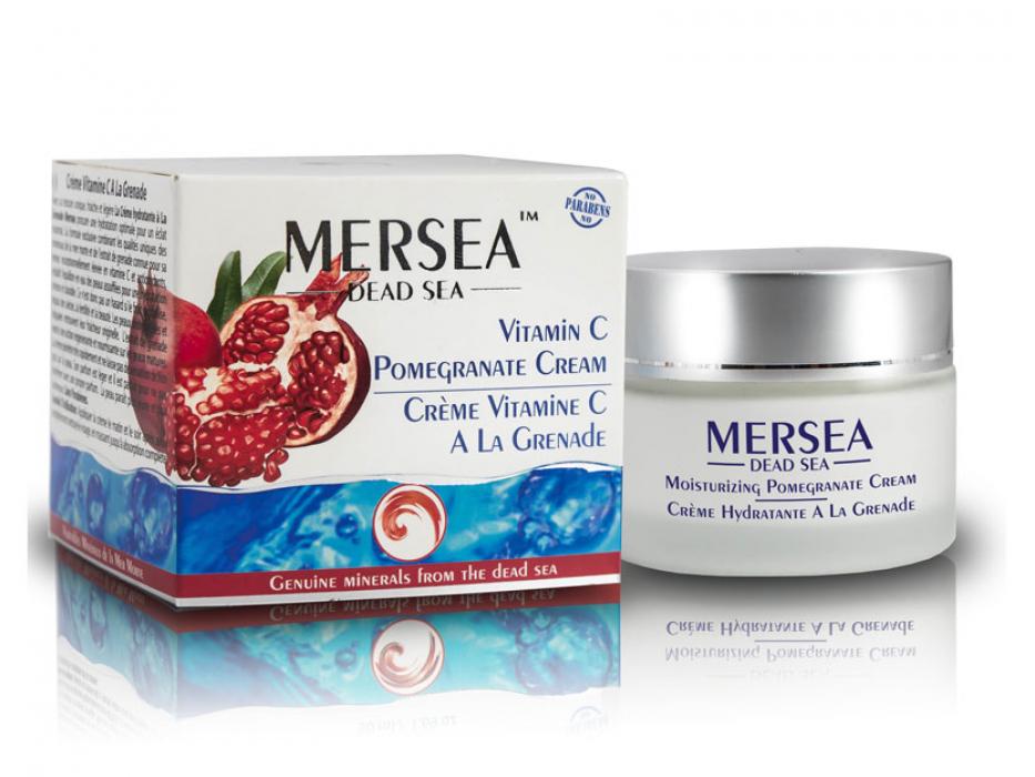 Dead Sea Minerals and Pomegranate Cream