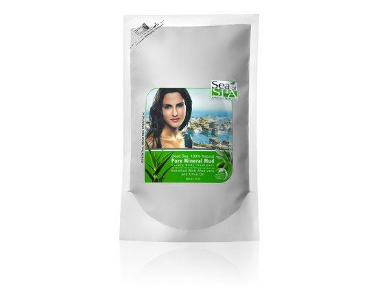Dead Sea Mud with Aloe Vera For Soft Skin