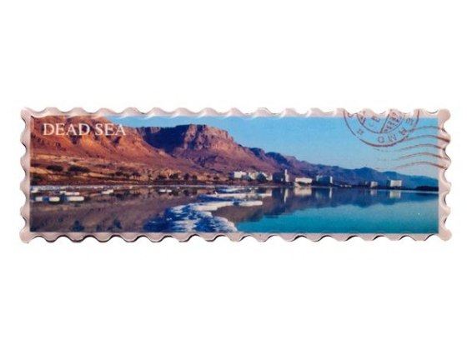 Dead Sea Panorama Fridge Magnet, Israel Souvenirs