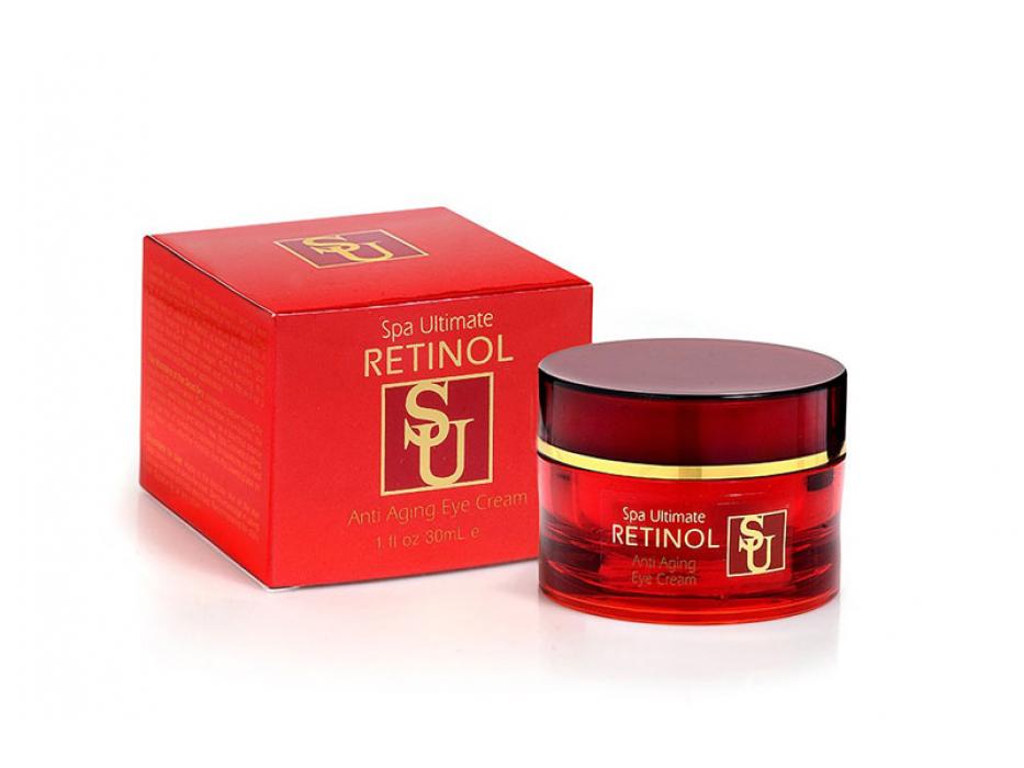 Dead Sea Spa Cosmetics Anti Aging Retinol Eye Cream
