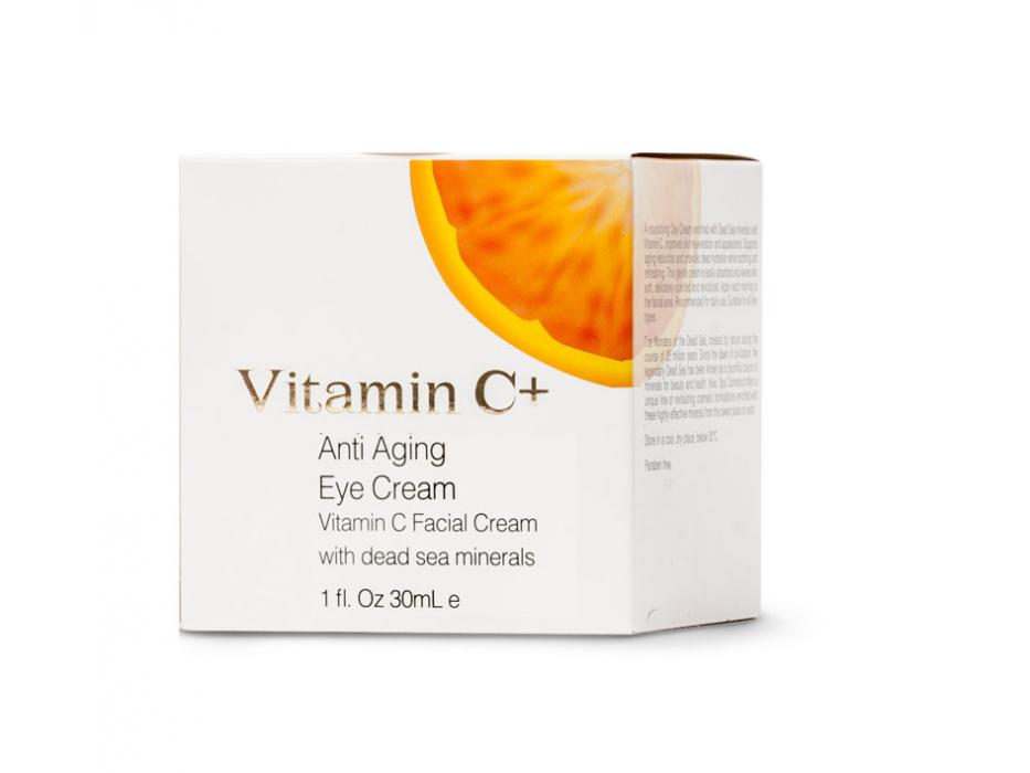 Dead Sea Spa Cosmetics Anti Aging Vitamin C Eye Cream
