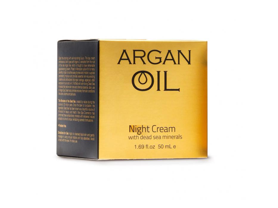Dead Sea Spa Cosmetics Argan Oil Night Cream