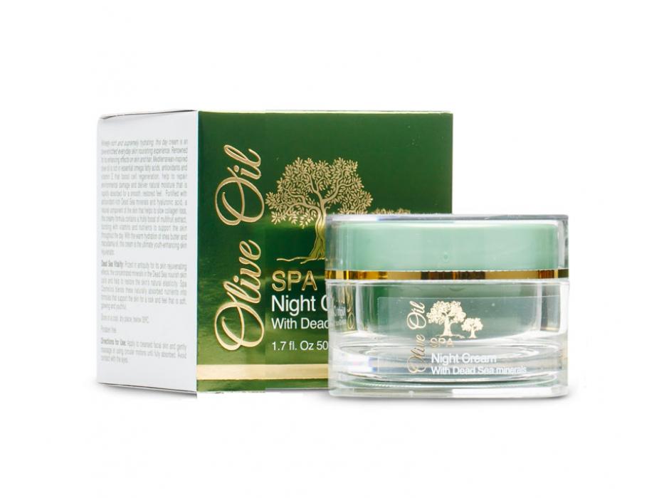Dead Sea Spa Cosmetics Olive Oil Night Cream