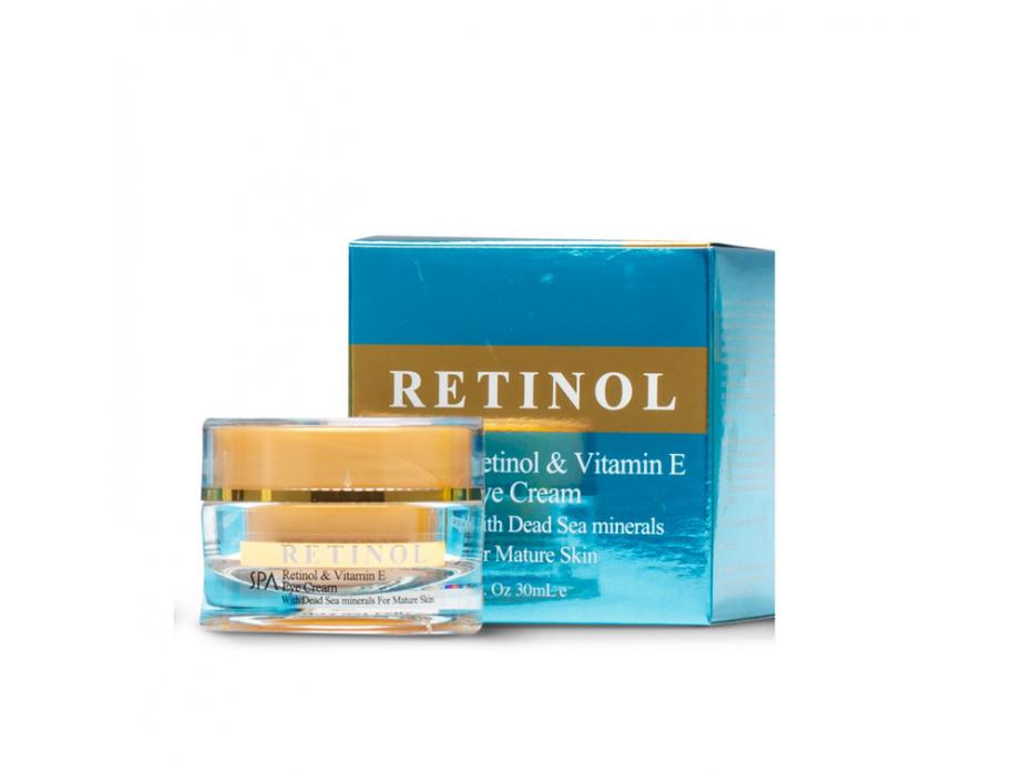 Dead Sea Spa Cosmetics Retinol Vitamin E Eye Cream