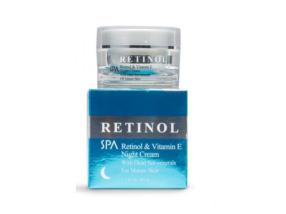 Dead Sea Spa Cosmetics Retinol Vitamin E Night Cream