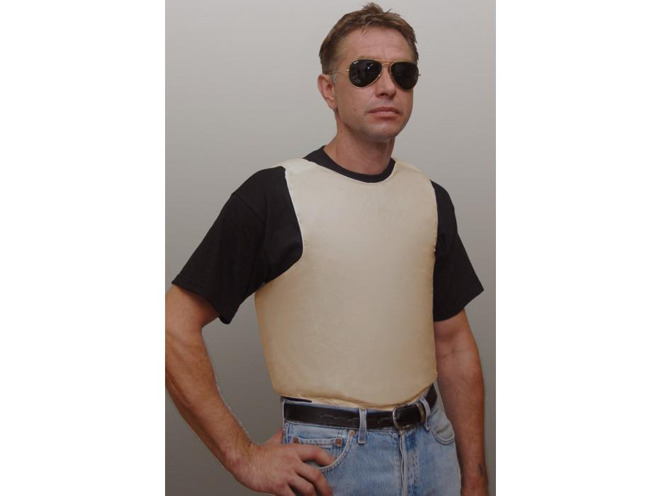 Bullet Proof Vest Concealed Lightweight with Goldflex Level IIIA