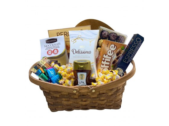 A Happy New Year Gift Basket
