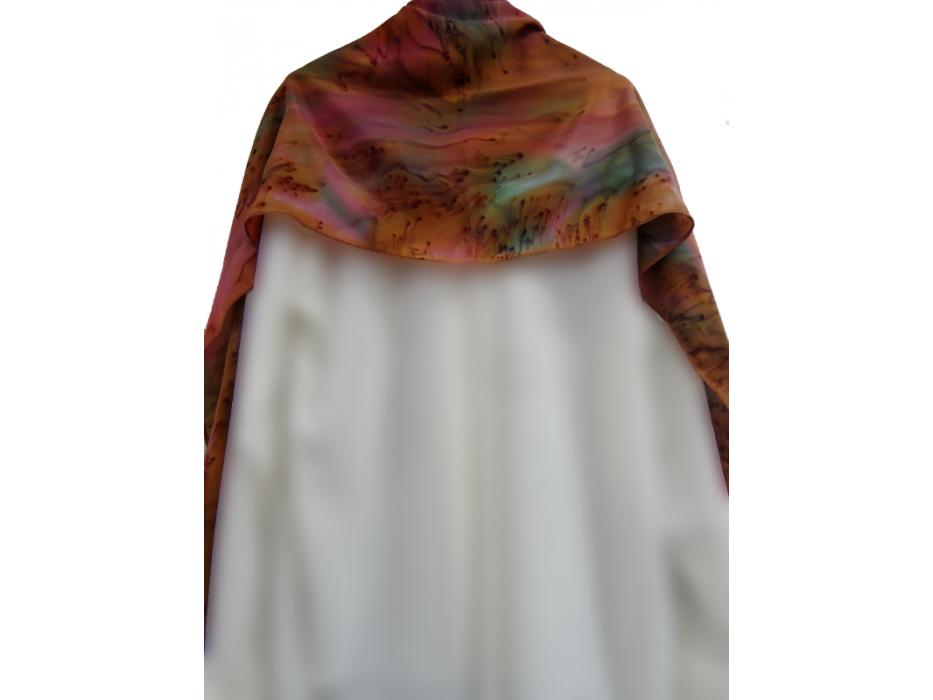 Earth Color Tallit Prayer Shawl by Galilee Silks