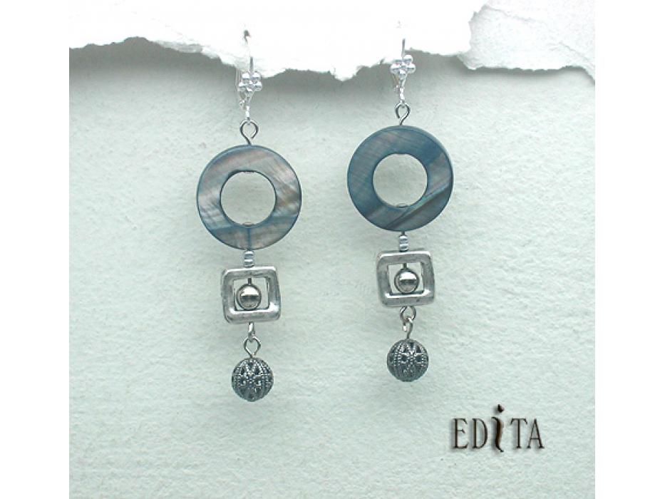 Edita - Annette -  Handcrafted Israeli Earrings