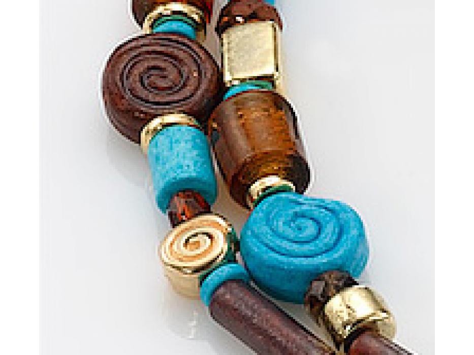 Edita - Egyptian Glory- Handcrafted Israeli Necklace