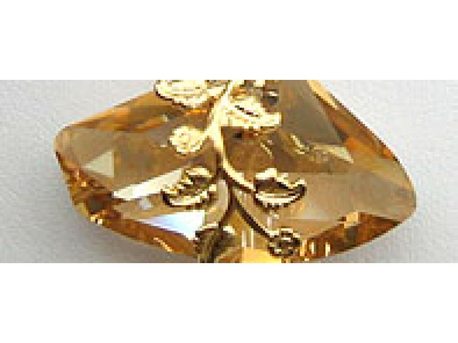 Edita - Glistening Gold- Handcrafted Israeli Necklace