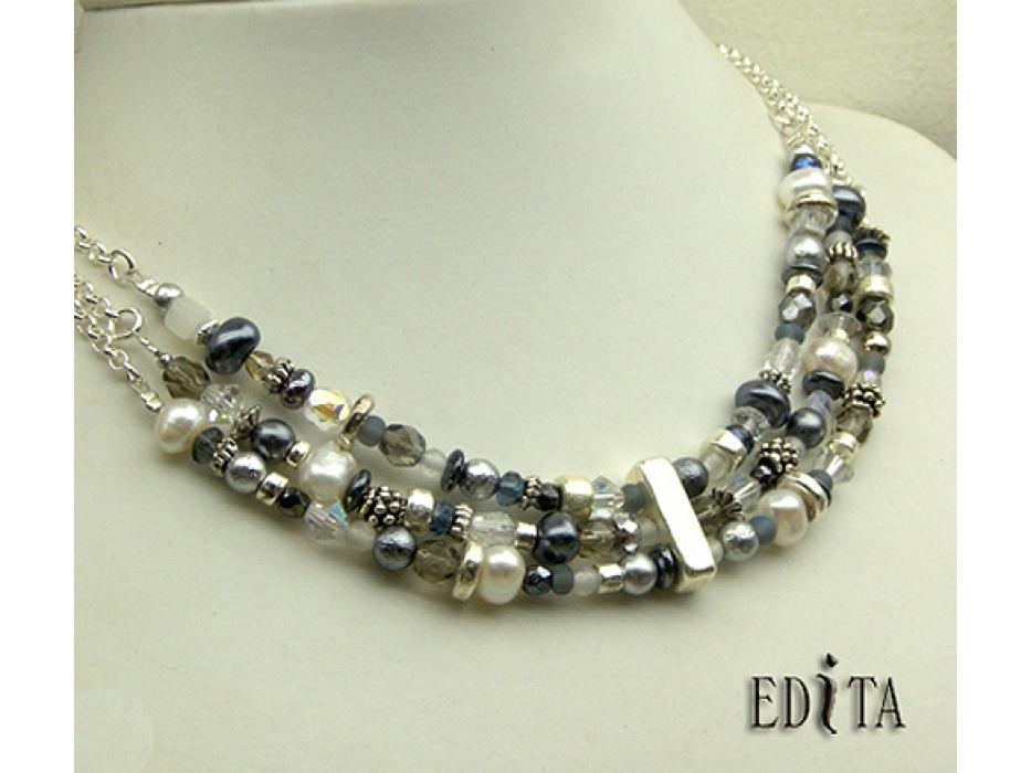 Buy Edita - Icy Queen - Handcrafted Israeli Necklace