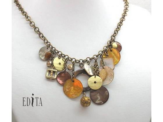Edita - Shell Passion - Handcrafted Israeli Necklace