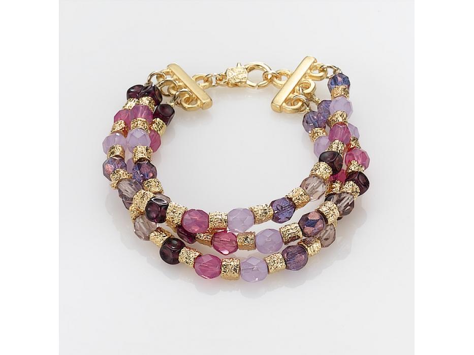 Edita - Very Berry - Handcrafted Israeli Bracelet