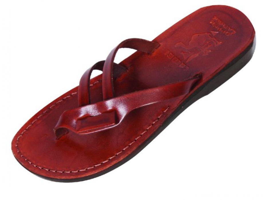 Elegant Flip-Flop Hand-Made Sandals - Deborah