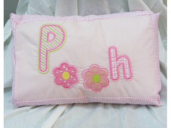 Embroidered Winne-the-Pooh Baby Pillow from Pinat Eden