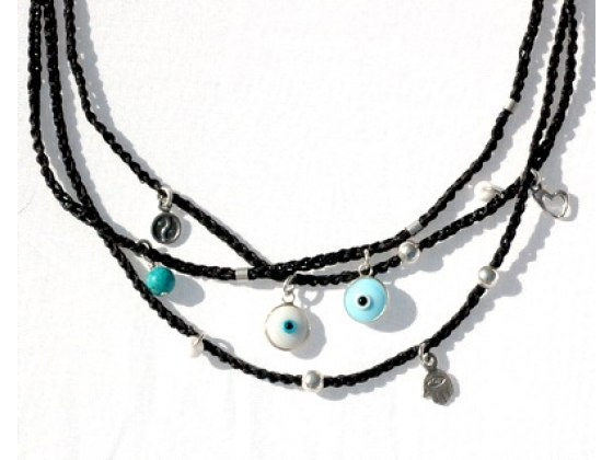 Evil Eye Charms Necklace