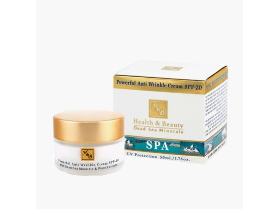Extra-Strength Dead Sea Mineral Anti-Wrinkle Face Cream SPF 20