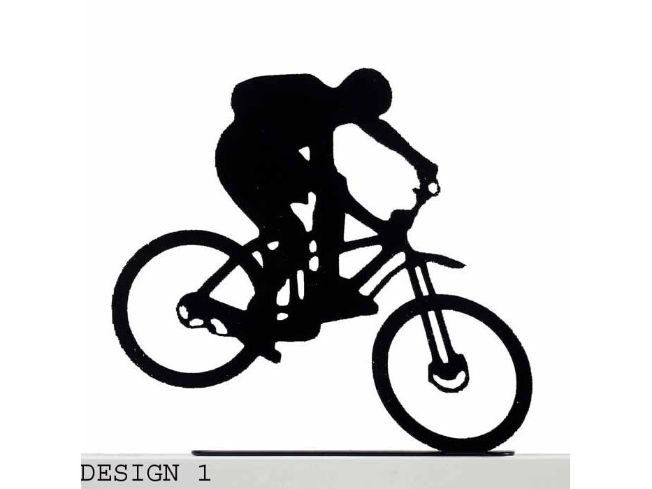 Extreme Bike Rider Metal Sculpture, Home Accessories - Design 1
